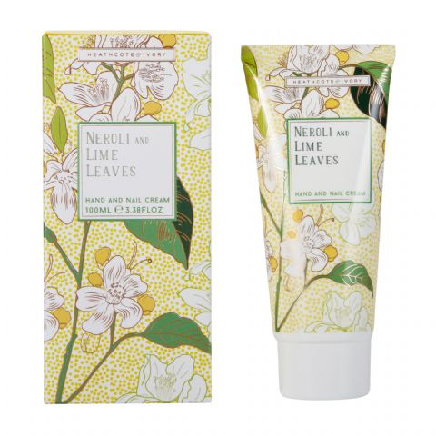 Neroli & Lime Leaves Hand & Nail Cream 100ml Heathcote & Ivory